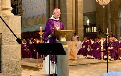 « L'Eglise compte sur vous, les jeunes, pour s'élancer vers son avenir !» Homélie de Mgr de Kerimel